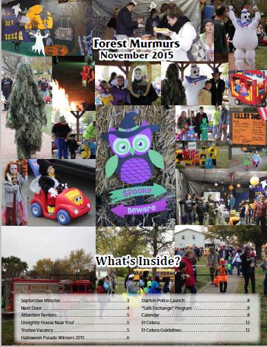 Forest Ridge Murmurs November 2015