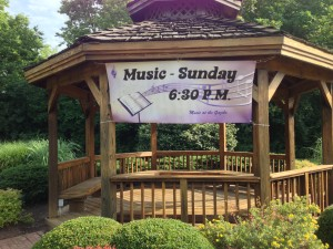 Music at the Gazebo Banner